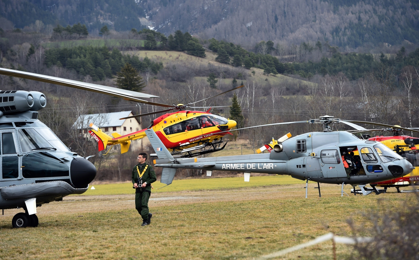 Helicopters germanwings
