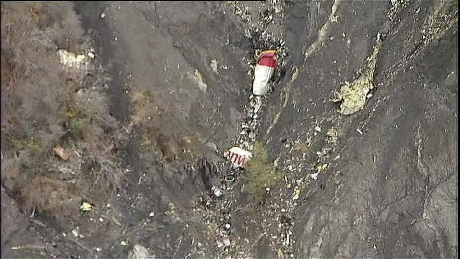 Germanwings plane crash in French Alps