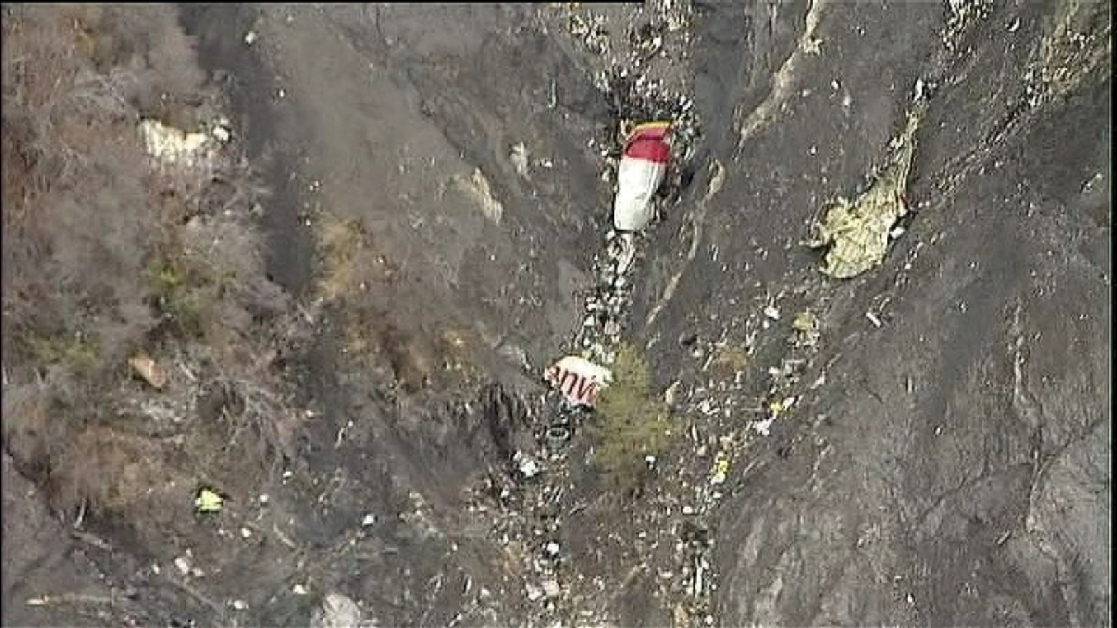 Germanwings crash French Alps A320