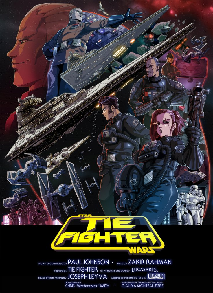 Watch Star Wars Tie Fighter Online An Anime Film Featuring An Epic