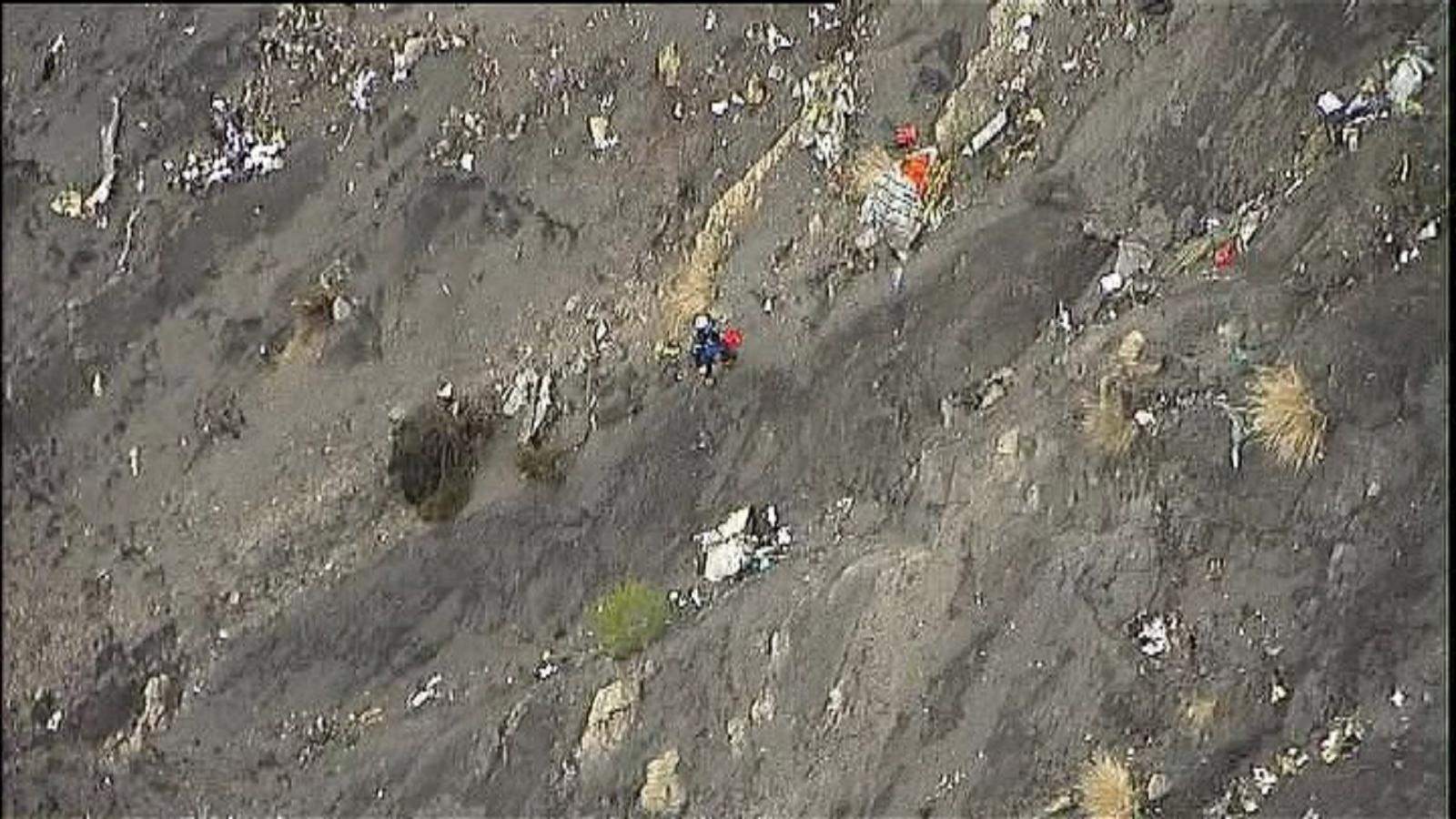 Germanwings plane crash french alps