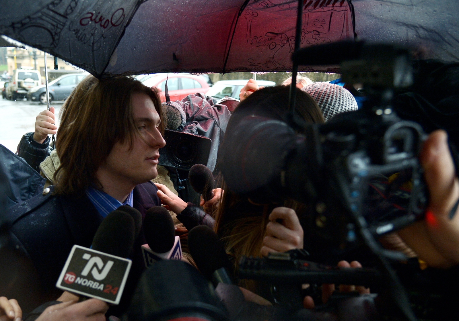 Raffaele Sollecito Amanda Knox Trial Verdict