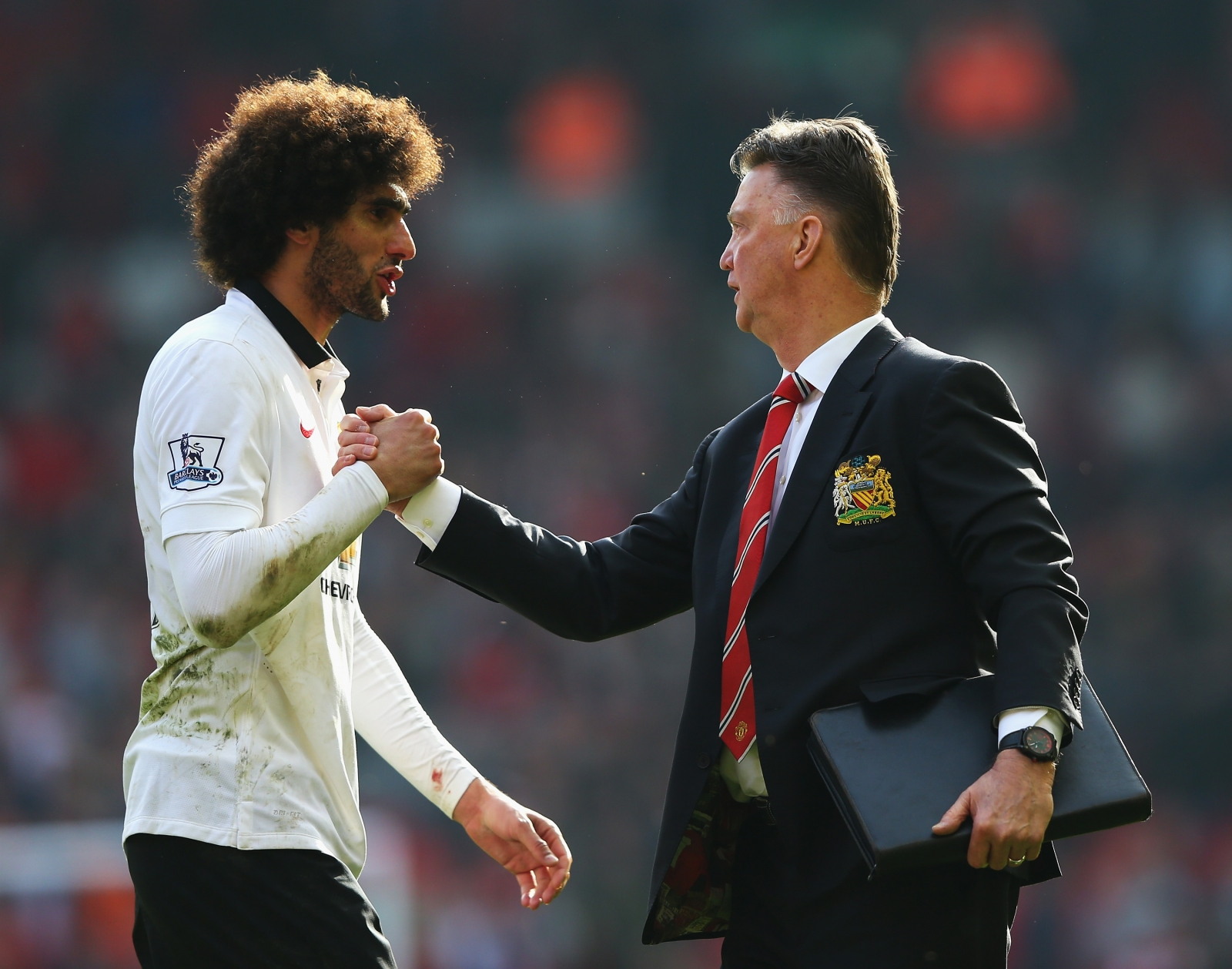 Fellaini and van Gaal