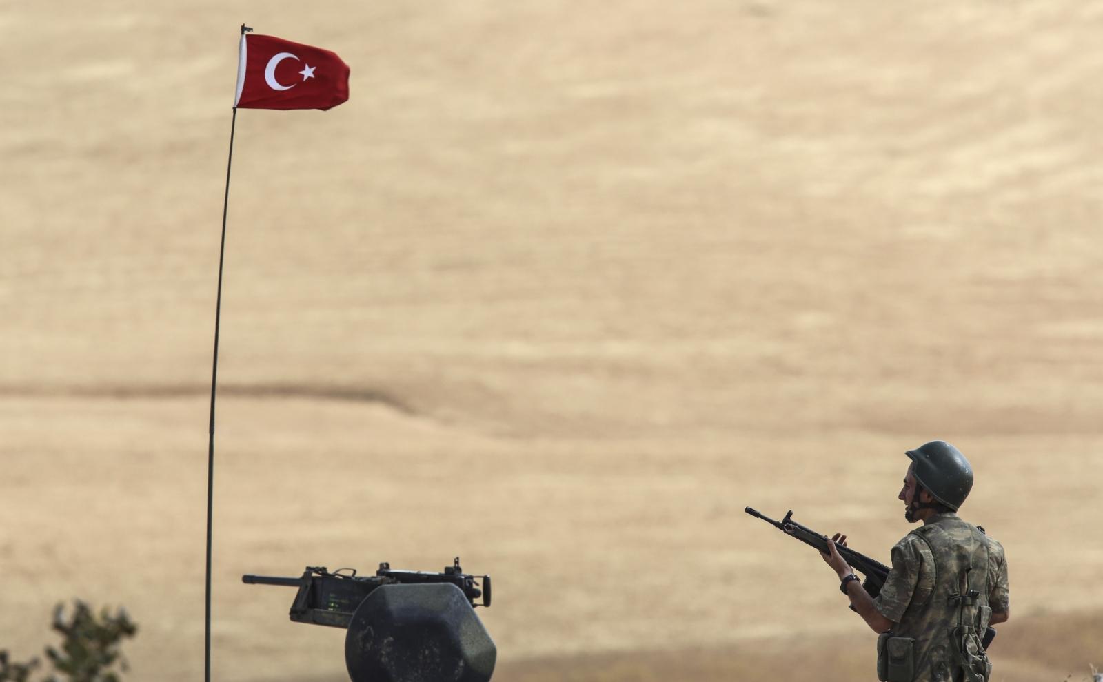 Turkish/Syrian border