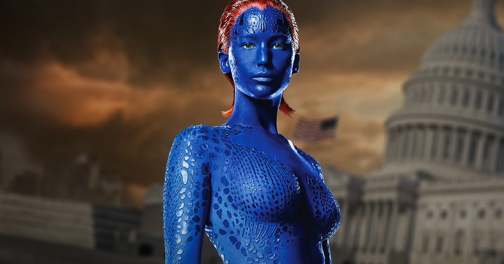 Mystique in X Men