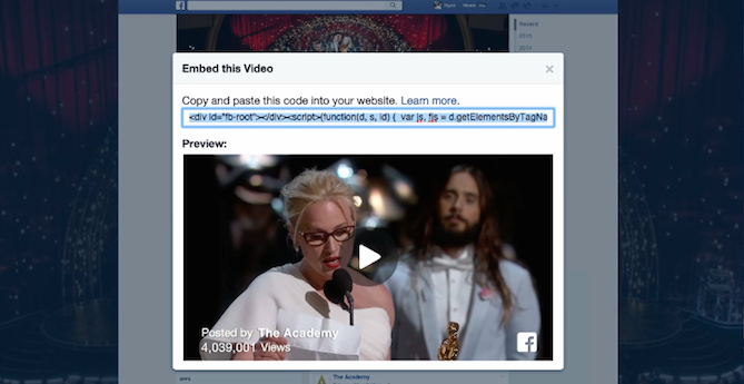 facebook youtube video F8 Zuckerberg
