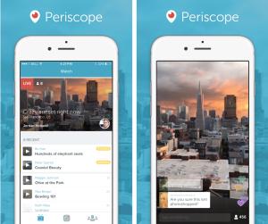 Periscope vs Meerkat live video streaming