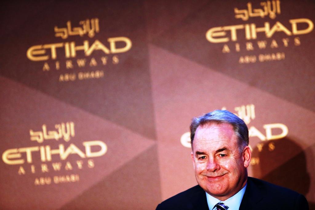 Etihad Airways CEO James Hogan