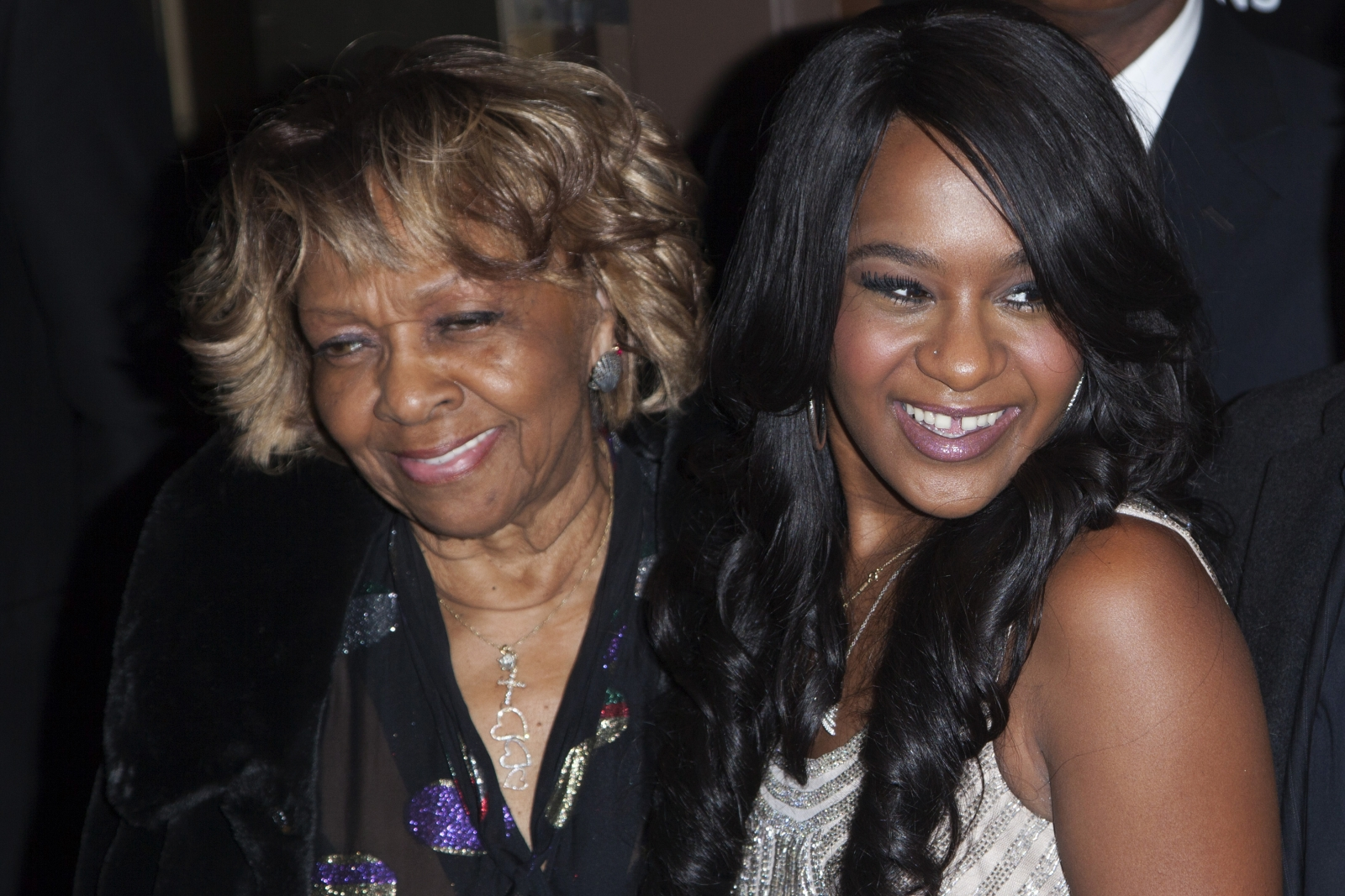 Cissy Houston and Bobby Kristina