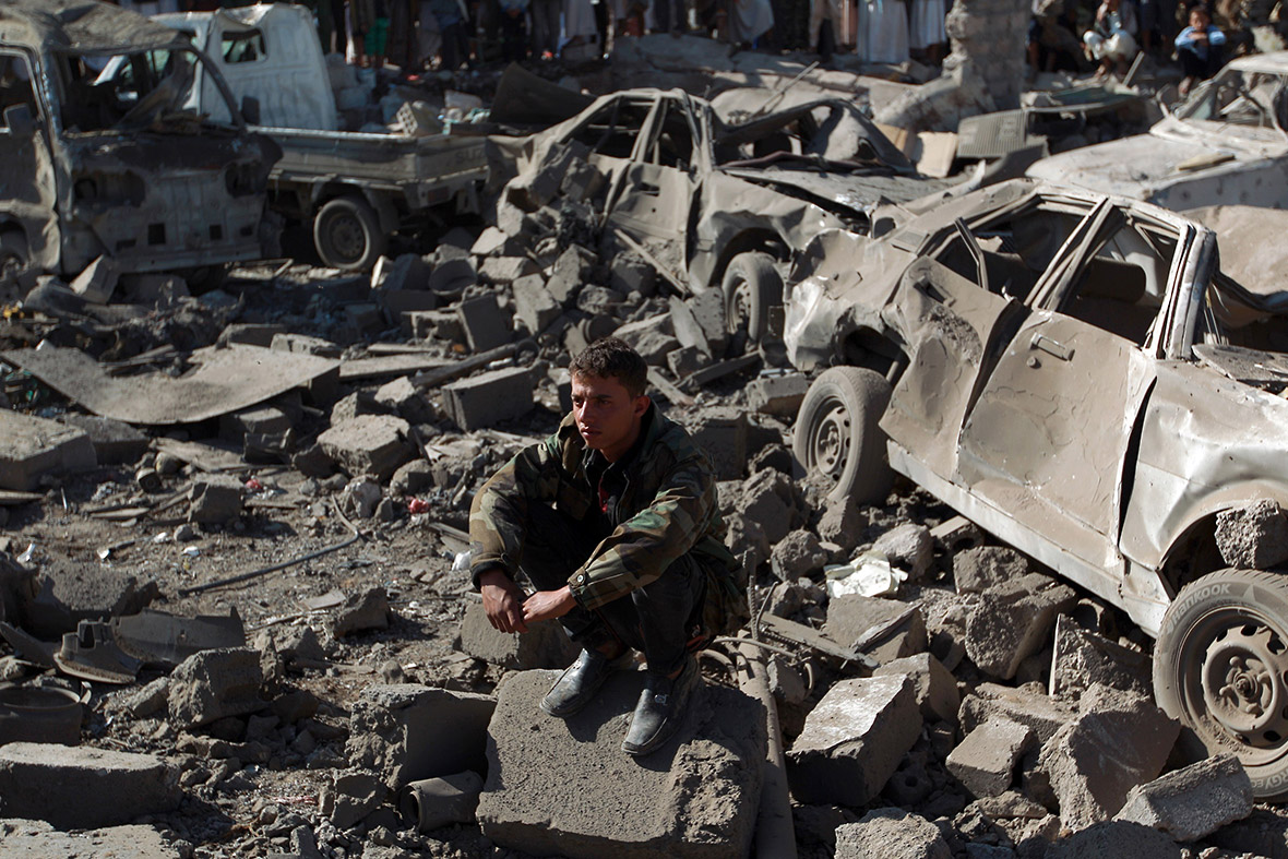 Image result for yemen air strike