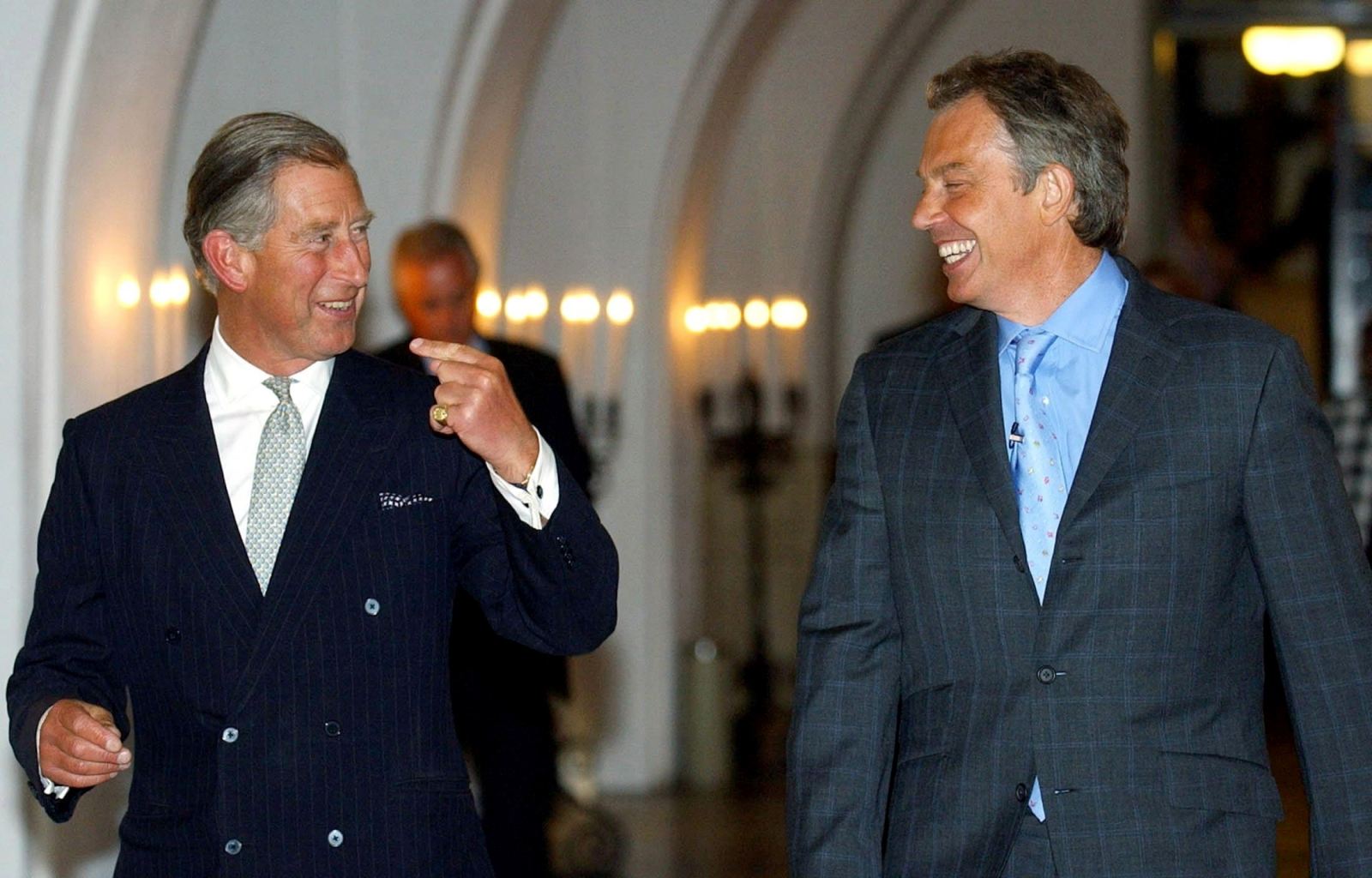 Prince Charles and Tony Blair