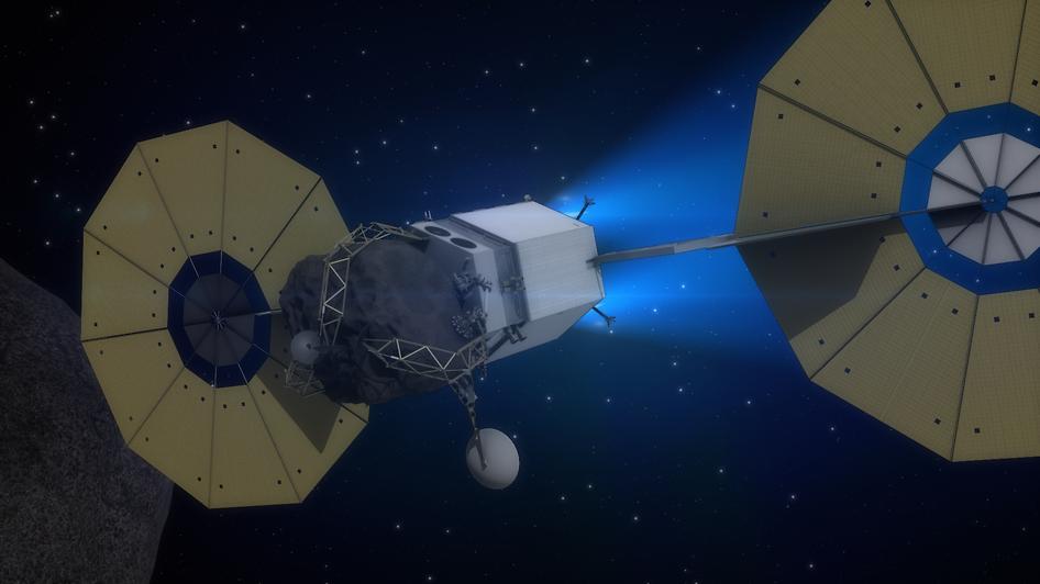 Nasa Arm asteroid