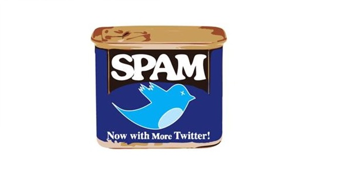 Twitter spam diet pills symantec