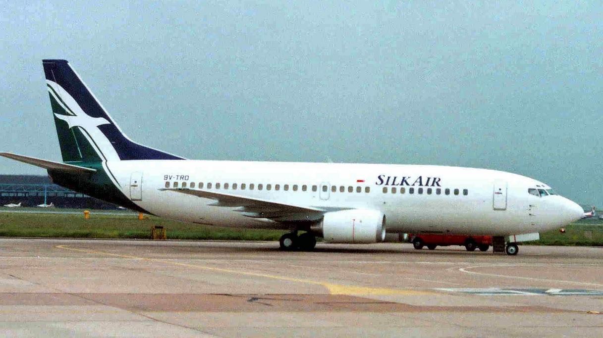A SilkAir Boeing 737
