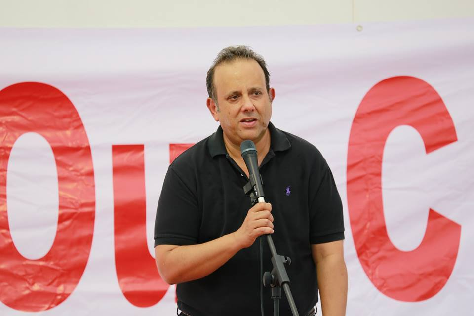 Kenneth Jeyaretnam, leader of Singapore's Reform Party