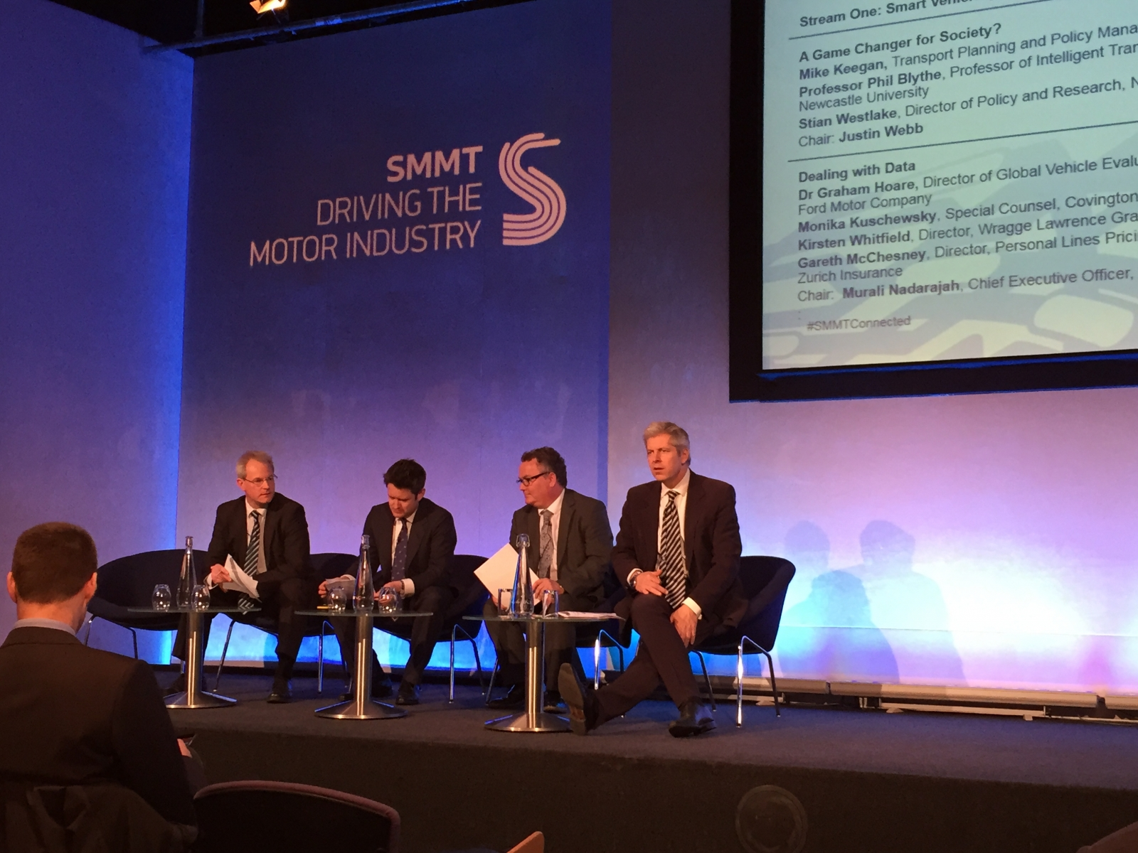 SMMT Connected autonomous car debate