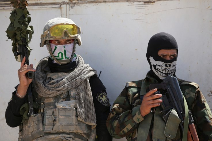 Shi'ite militia members in Iraq