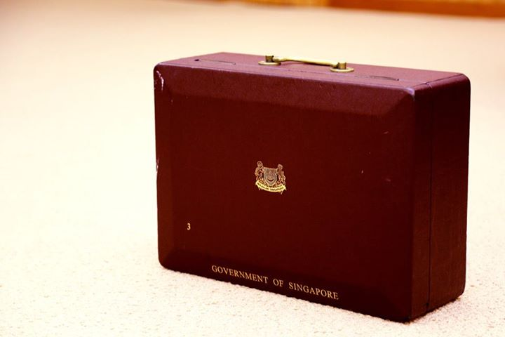 Lee Kuan Yew's red box