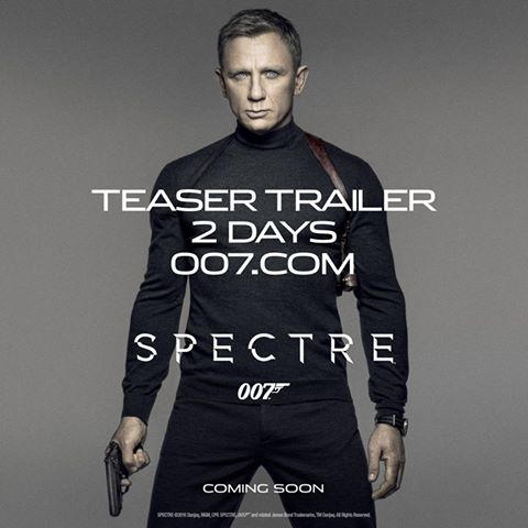 James Bond Spectre teaser trailer