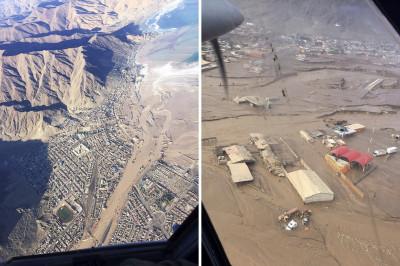 Chile Atacama floods
