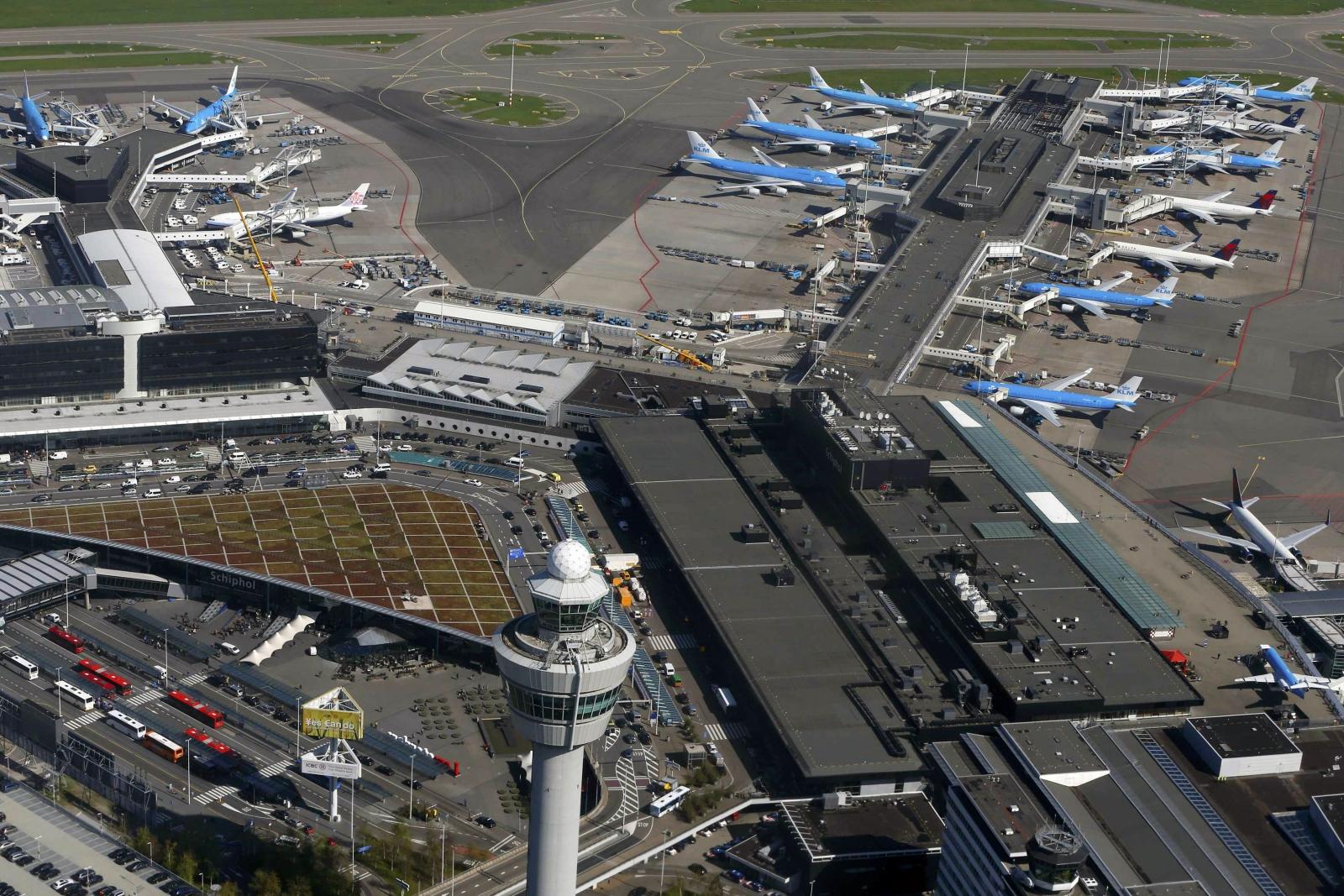 Schiphol airport Amsterdam