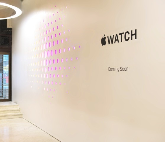 Apple Watch store Selfridges