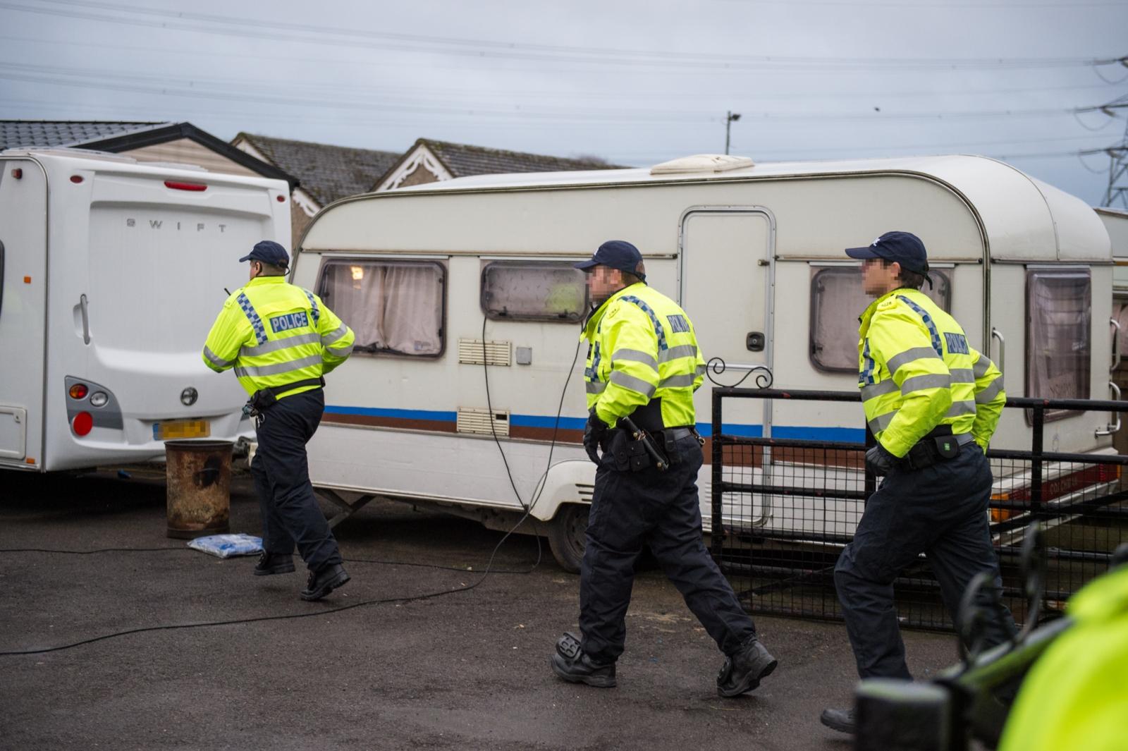 Thames Valley Police slavery arrests