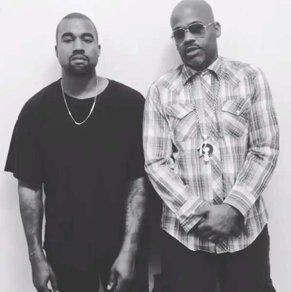 Kanye West and Damon Dash