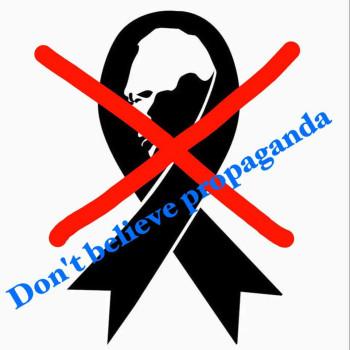 Don't believe propaganda meme