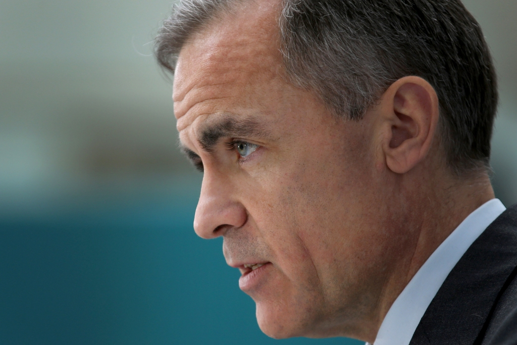 BoE Governor Mark Carney on Rates