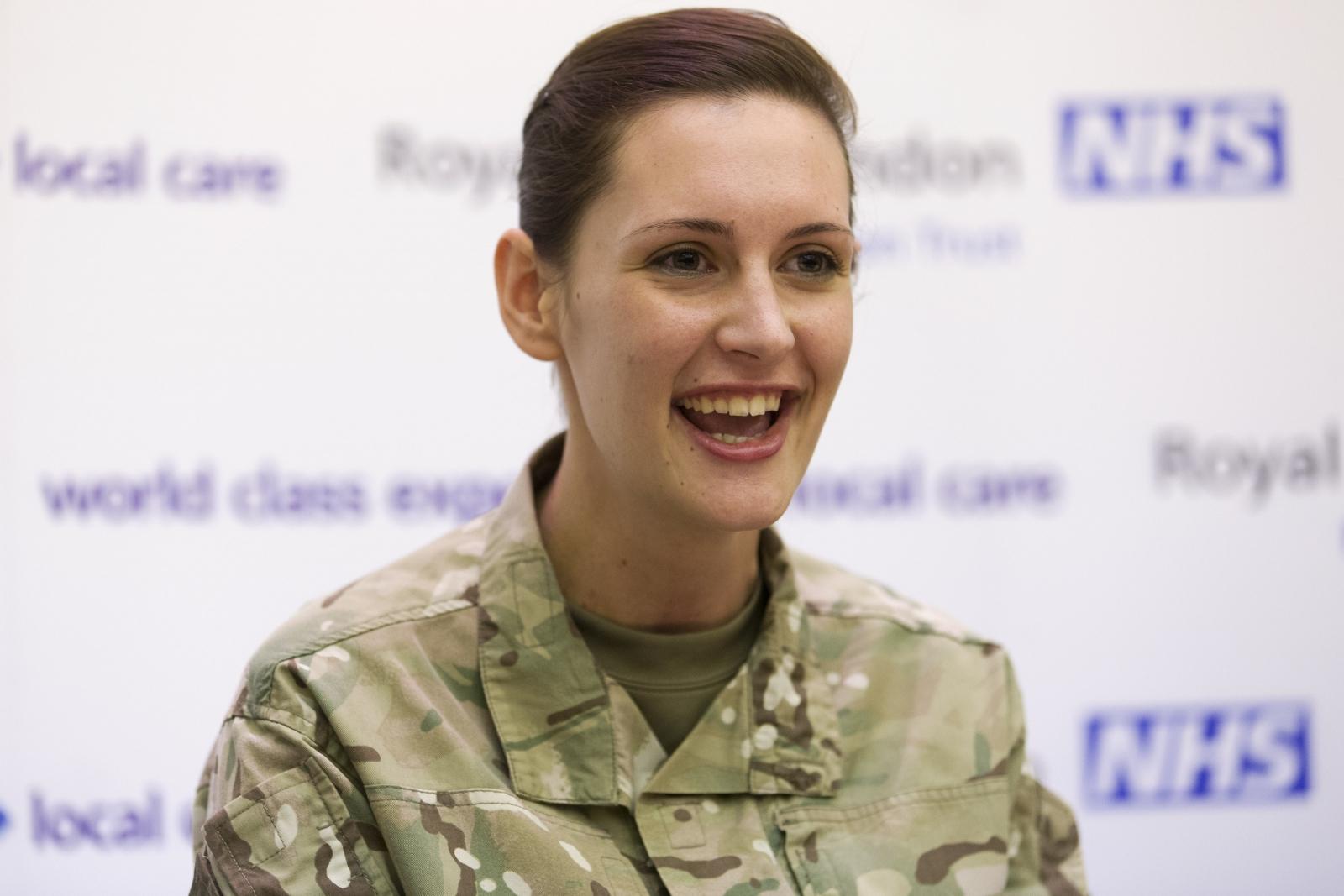 Corporal Anna Cross