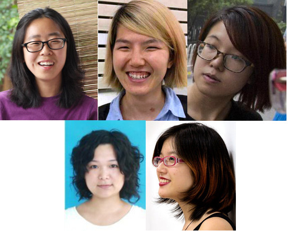 China women's rights activists
