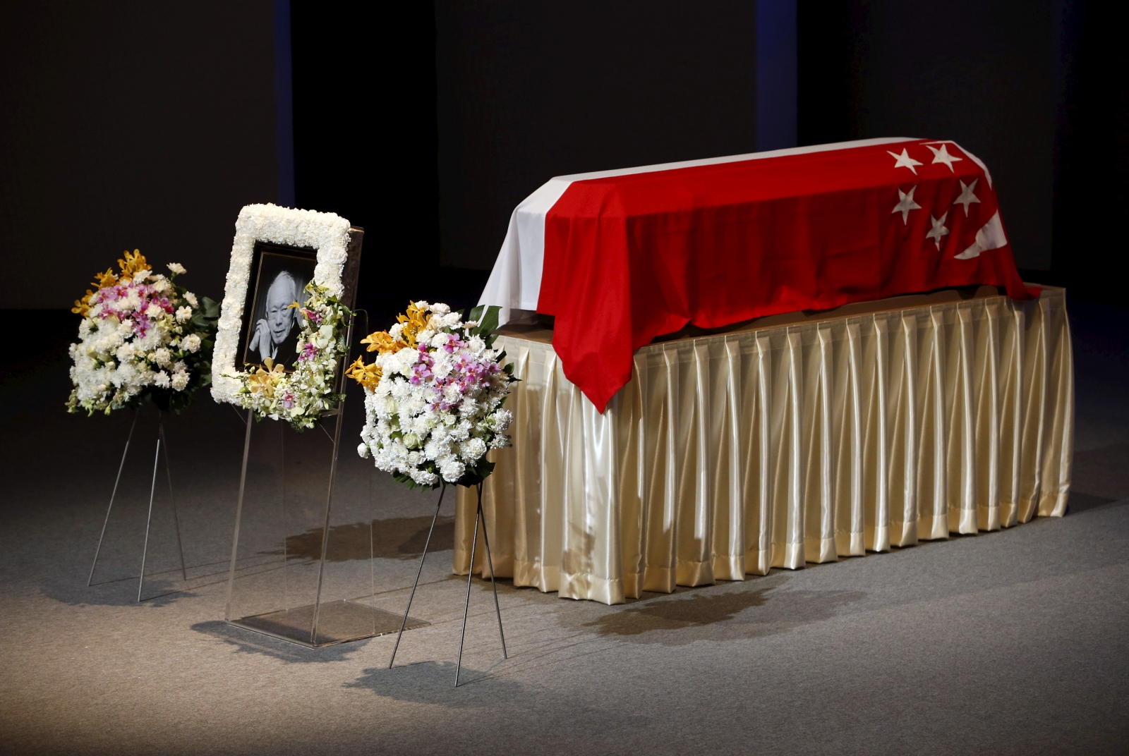 funeral of lee kuan yew