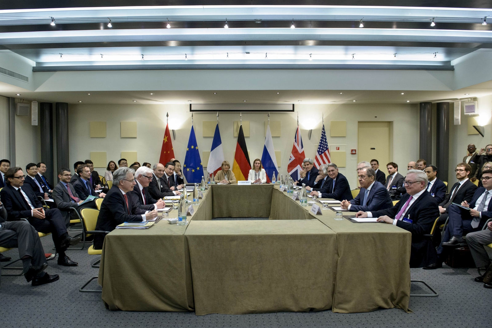 Iran nuclear talks in Switzerland