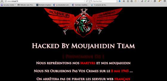 Mujahideen of Algeria hacking