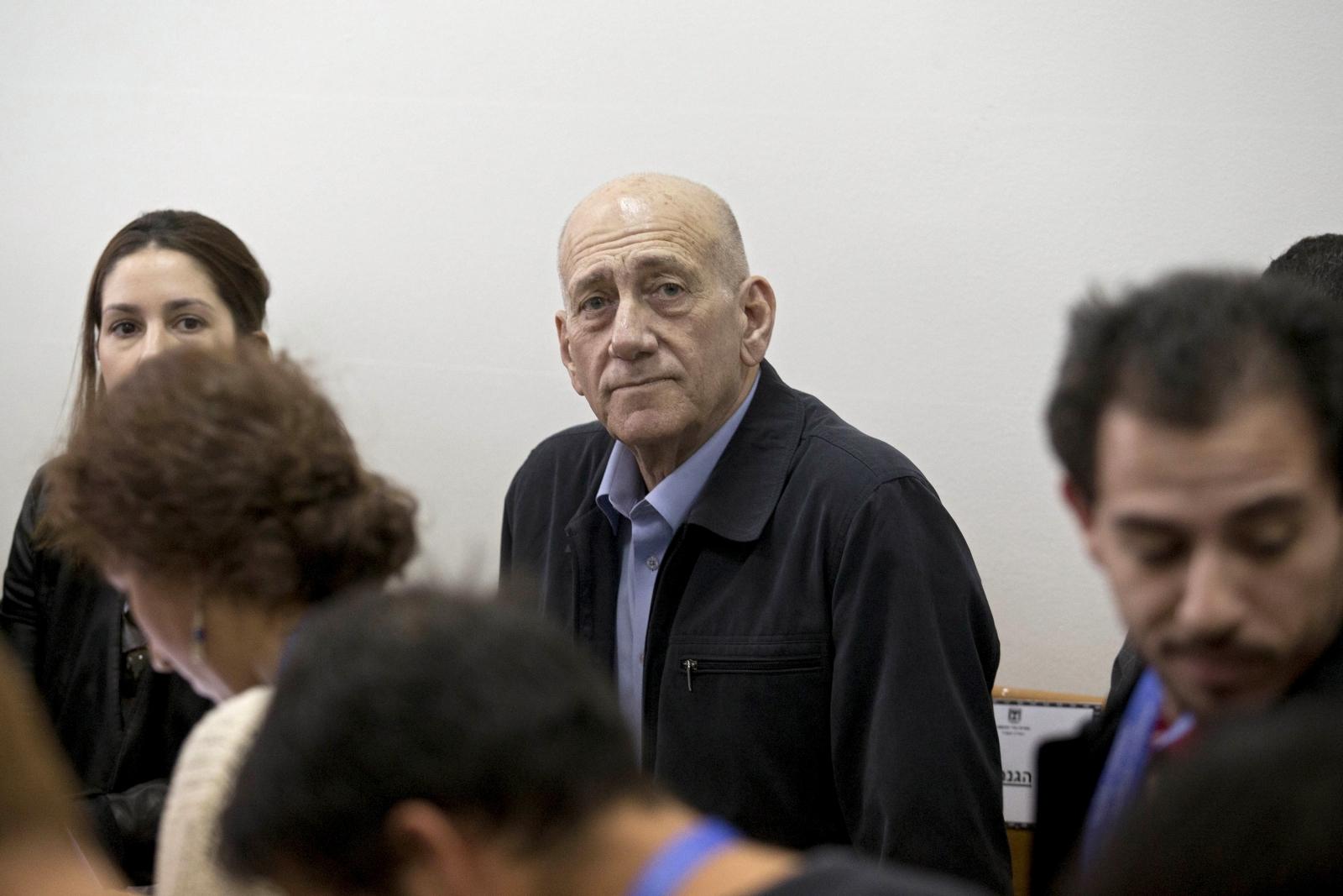 Ehud Olmert sentenced