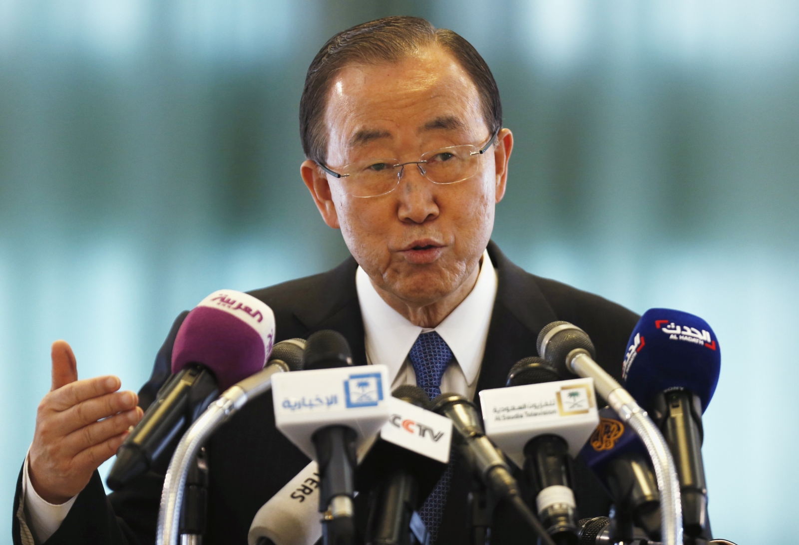 UN chief in Iraq