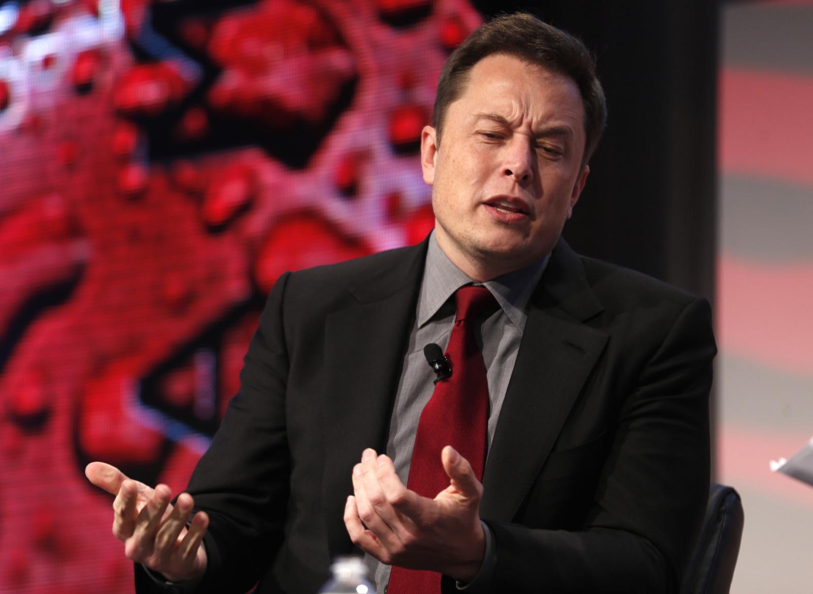 Elon Musk Tesla CEO