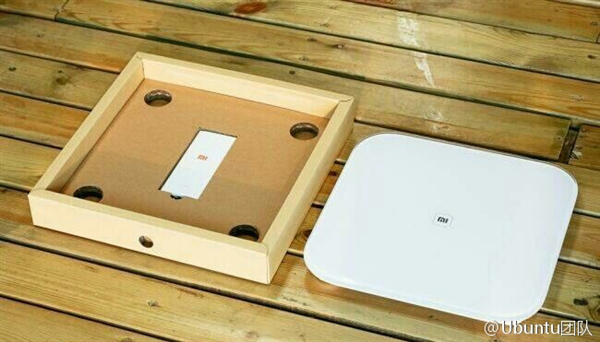 Xiaomi connected weighing scales