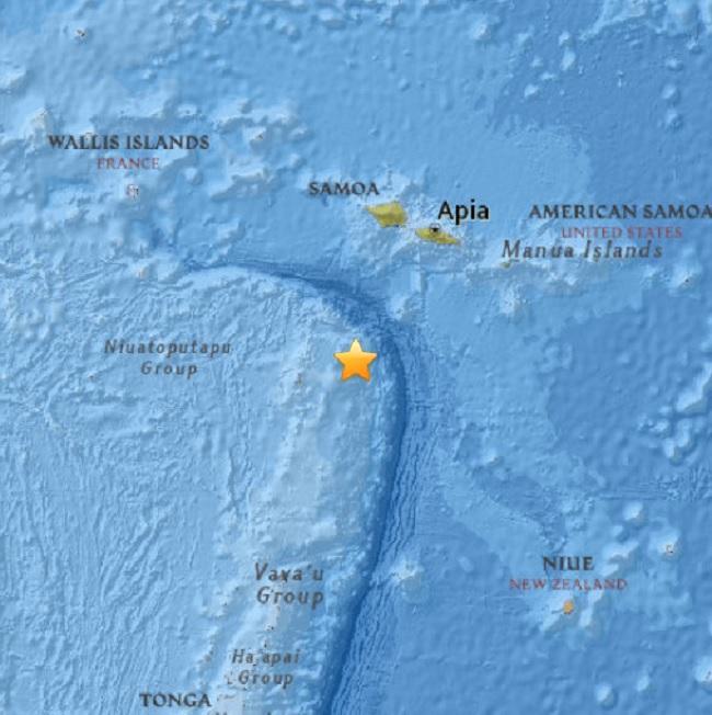 second earthquake in papua new guinea