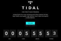 Tidal music streaming livestream