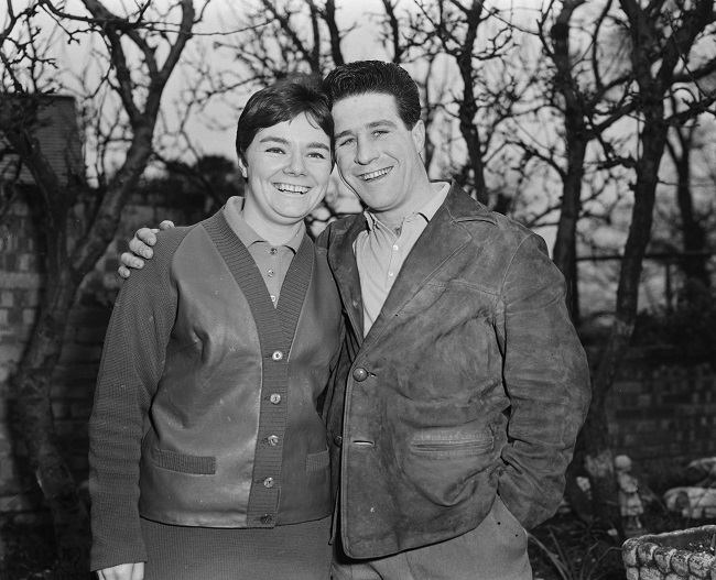 Couple Jean and Peter Tardsey