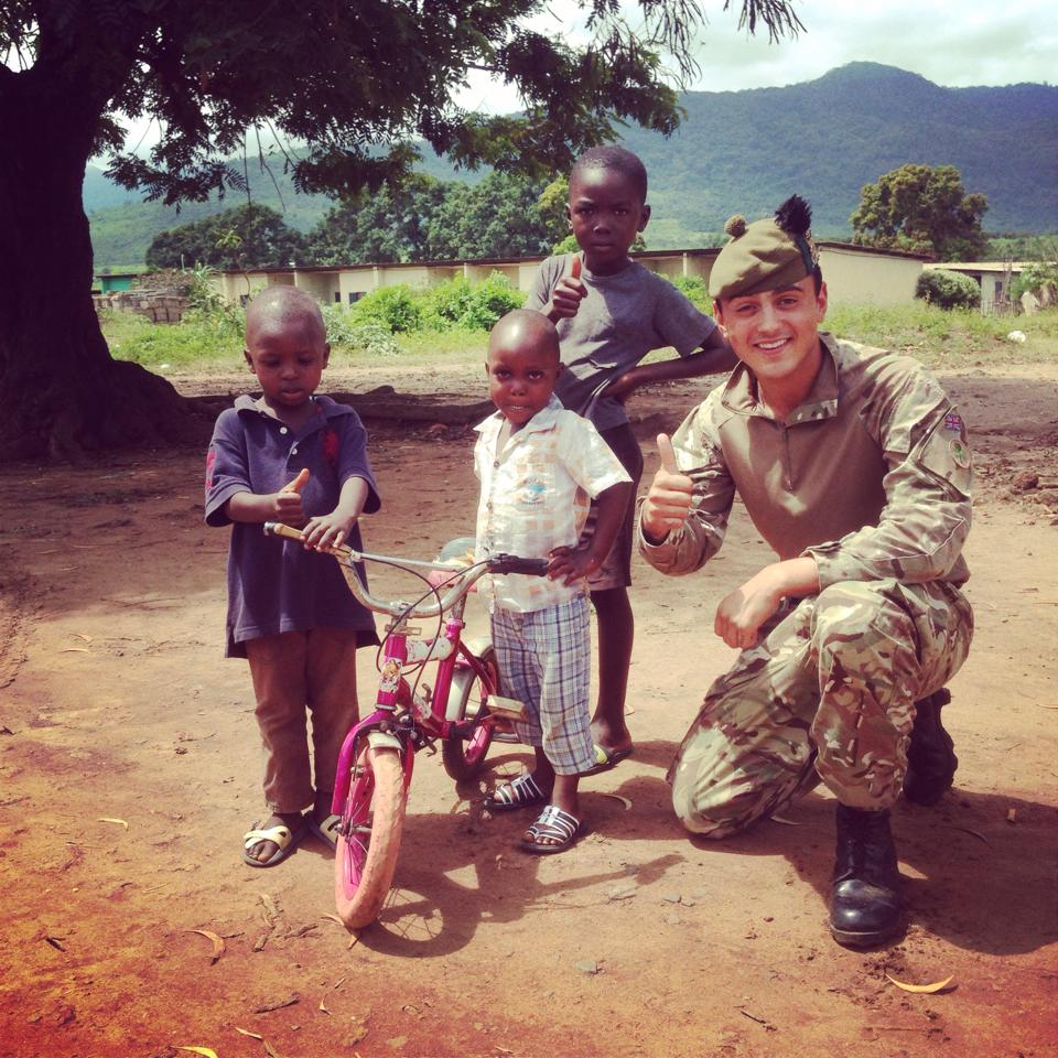 soldier Shaun Cole