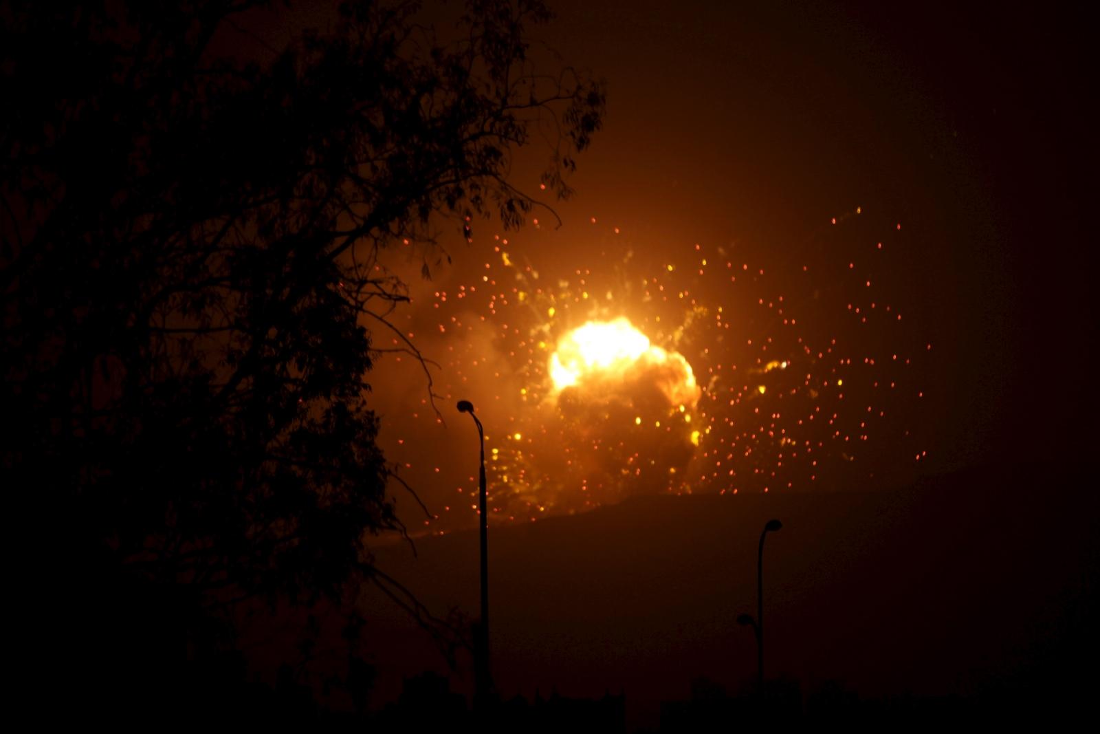 Saudi Arabia attack Yemen displaced