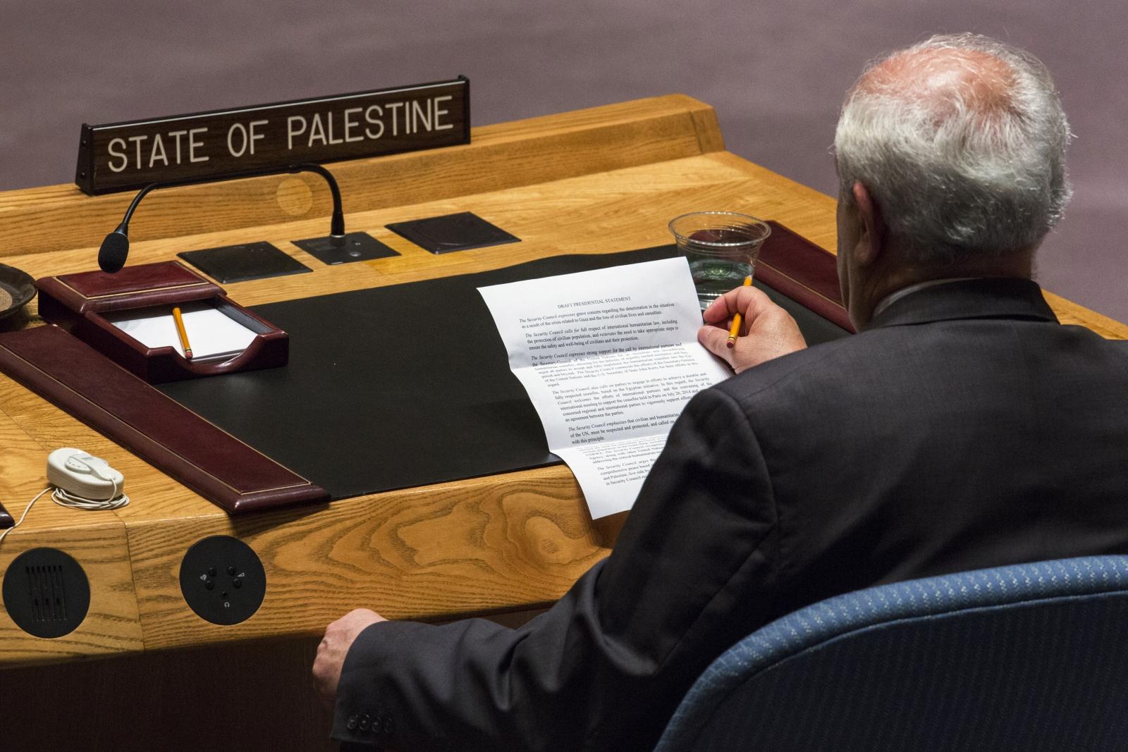 Riyad Mansour Palestine ICC UN