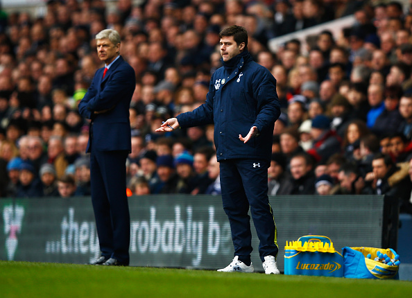 Arsene Wenger and Mauricio Pochettino