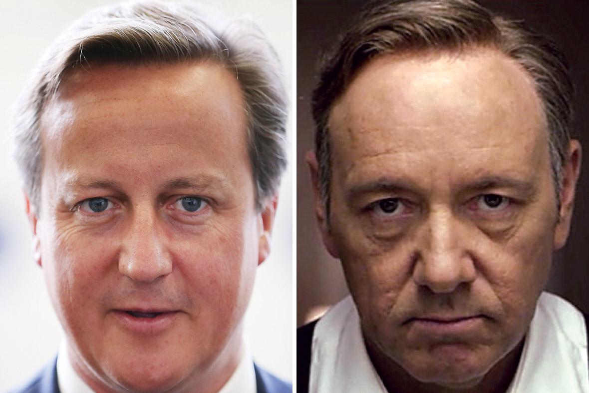 David Cameron Frank Underwood