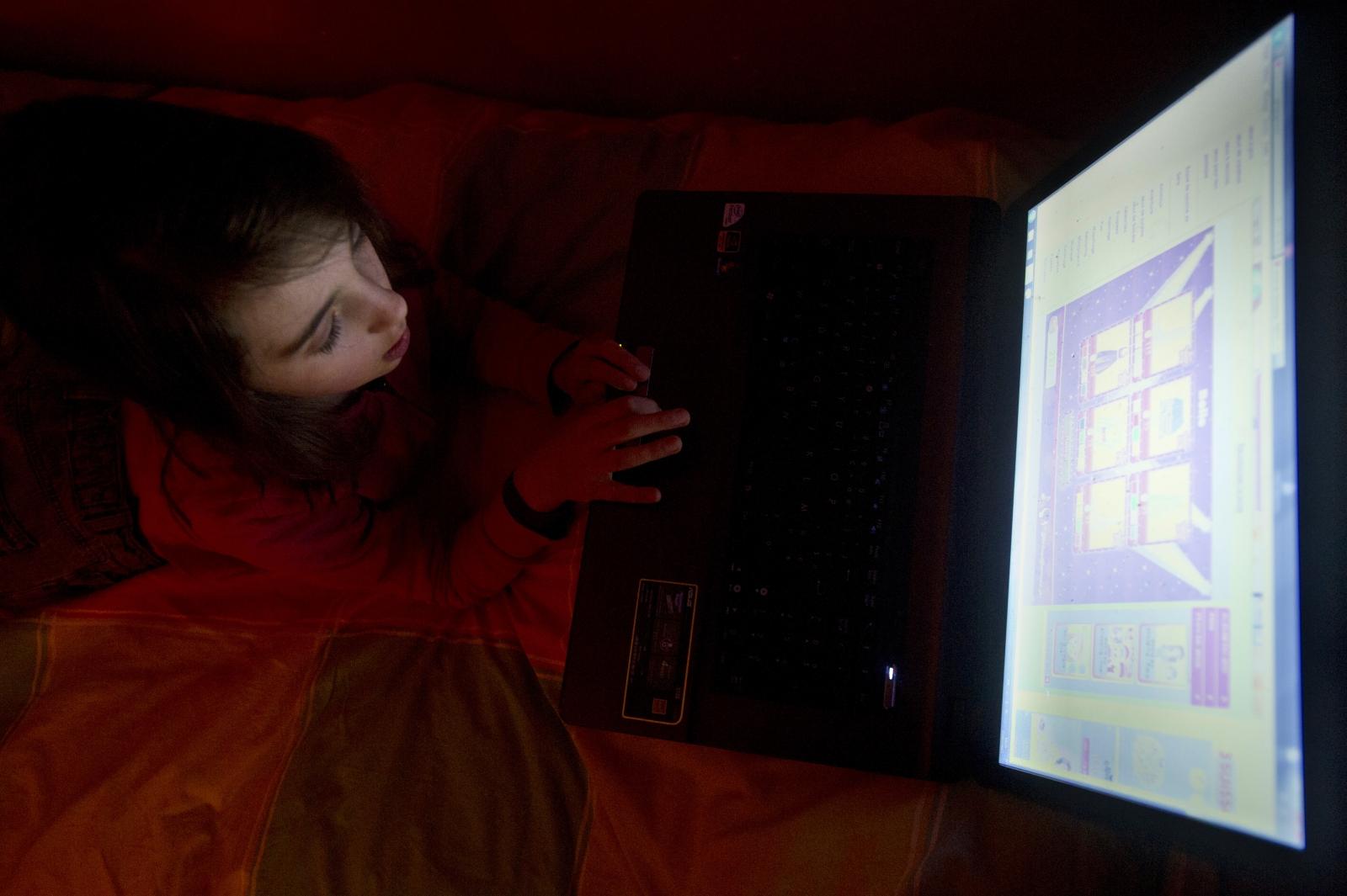 Many children fear web porn addiction