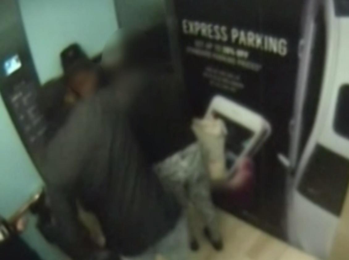 Westfield shopping centre lift assault
