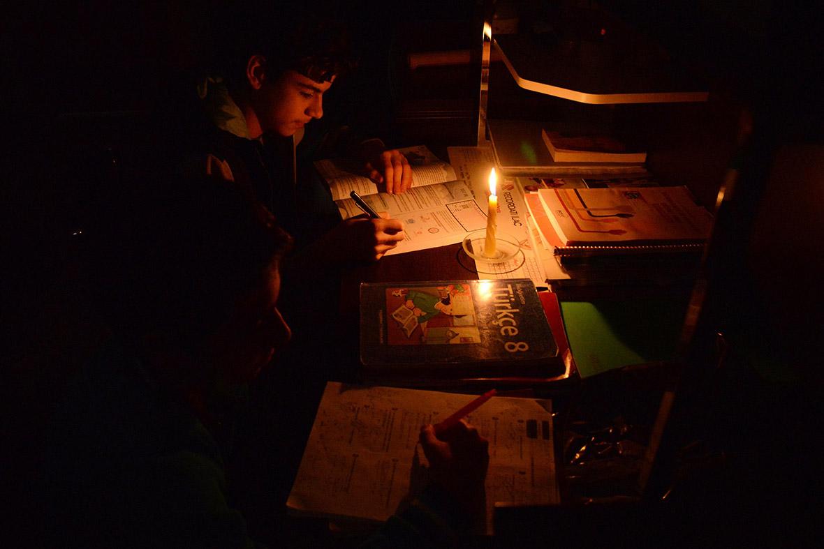 Turkey blackout